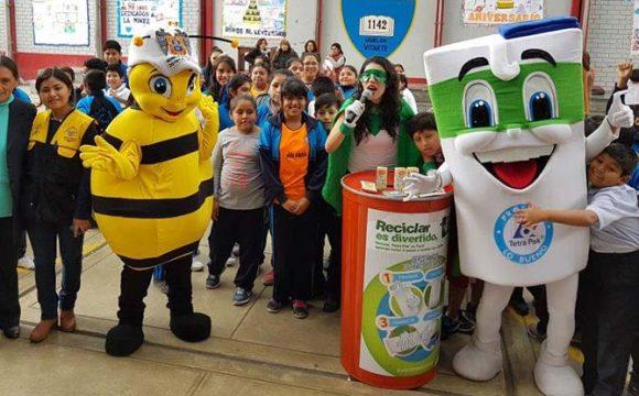 2020 – Encouraging recycling in Peru –Tetra Pak