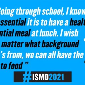 2021 – Let's listen to young people when we talk about the right to food